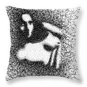 Nude 1045 Throw Pillow