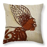 Nude 11 - Tile Throw Pillow