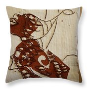 Nude 12 - Tile Throw Pillow