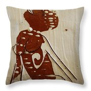 Nude 13 - Tile Throw Pillow