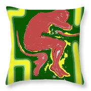Nude 17 Throw Pillow
