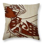 Nude 2 - Tile Throw Pillow