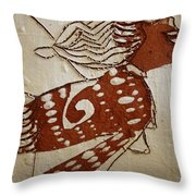 Nude 3 - Tile Throw Pillow