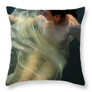 Embracing Pleasure Throw Pillow