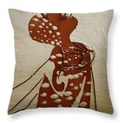 Nude 4 - Tile Throw Pillow