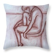 Nude 41 Throw Pillow