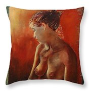 Nude 458755 Throw Pillow