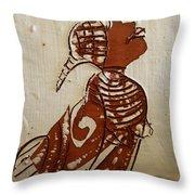 Nude 5 - Tile Throw Pillow