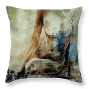 Nude 560408 Throw Pillow