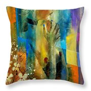 Nude 5609082 Throw Pillow