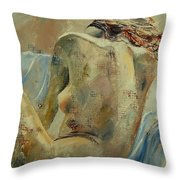 Nude 56905092 Throw Pillow