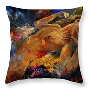 Nude 67 0407 Throw Pillow