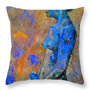 Nude 7551 Throw Pillow