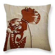 Nude 8 - Tile Throw Pillow