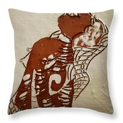 Nude 9 - Tile Throw Pillow
