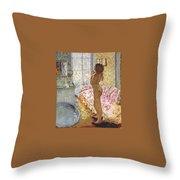 nude against the light 1908 Pierre Bonnard Throw Pillow