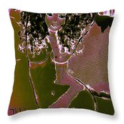 Nude Dancer Throw Pillow