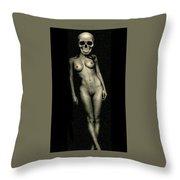 Nude Death 8 Throw Pillow