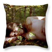 Nude In Nature 4 Throw Pillow