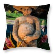 Nude Man Scupture 1 Throw Pillow