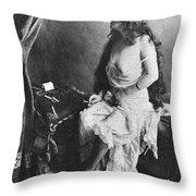 Nude Smoking, 1913 Throw Pillow