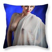 Nude Woman Model 1722  006.1722 Throw Pillow
