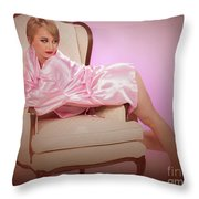 Nude Woman Model 1722  015.1722 Throw Pillow