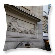 Nudes Old And New Throw Pillow