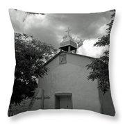Nuestra Senora De La Luz Throw Pillow