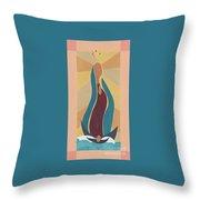 Nuestra Senora Guadalupe Throw Pillow