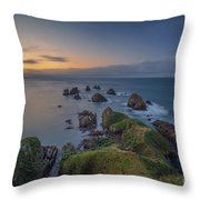 Nugget Point Throw Pillow