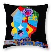 Nullivs In Verba Throw Pillow