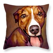 Number One Fan Throw Pillow