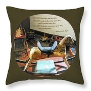 Numbers 6 24-26 The Lord Bless Thee And Keep Thee Throw Pillow