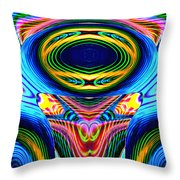 Numerous Colors 5 Throw Pillow
