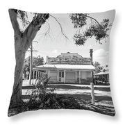 Nunan's Butcher Shop, Devenish Throw Pillow