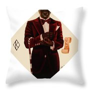 Nupe Throw Pillow