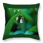 Nurys Lilly Throw Pillow