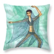 Nutcracker Act 2 Impressions In Progress Throw Pillow