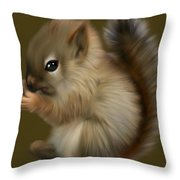 Nutkin Throw Pillow