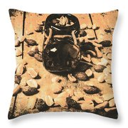 Nuts About Vintage Still Life Art Throw Pillow