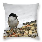 Nuts Said The Willow Throw Pillow