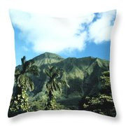 Nuuanu Pali Throw Pillow
