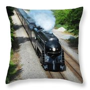 Nw 611 Under Me Throw Pillow