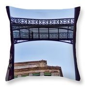 Ny Architecture Connection  Throw Pillow