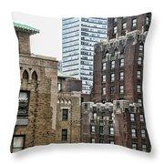Ny Brick 1 Throw Pillow