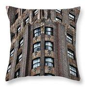 Ny Brick 11 Throw Pillow