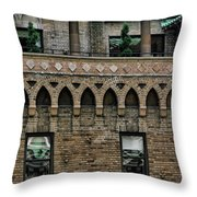 Ny Bricks 2 Throw Pillow