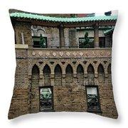 Ny Bricks 3 Throw Pillow