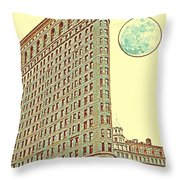 Ny Manhattan Throw Pillow